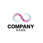 istock Infinity Logo sign 1180354091
