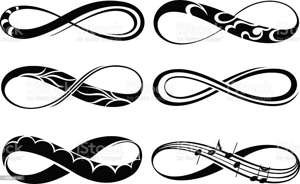 Infinity Love Forever Symbols Stock Vector Art More Images Of 2015