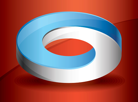 Infinity Ring Stock Illustration - Download Image Now