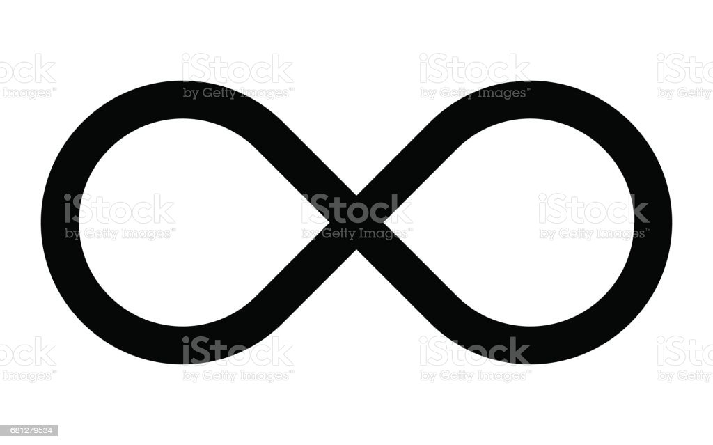 royalty free infinity sign clip art vector images illustrations rh istockphoto com infinity symbol clipart black and white