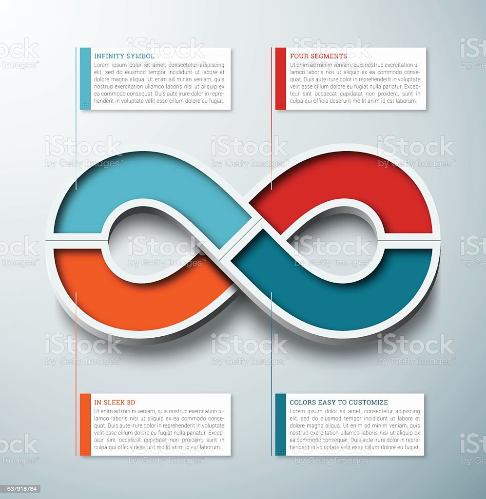 Infinity symbol 3d infographic element stock vector art more infinity symbol 3d infographic element royalty free infinity symbol 3d infographic element stock vector biocorpaavc