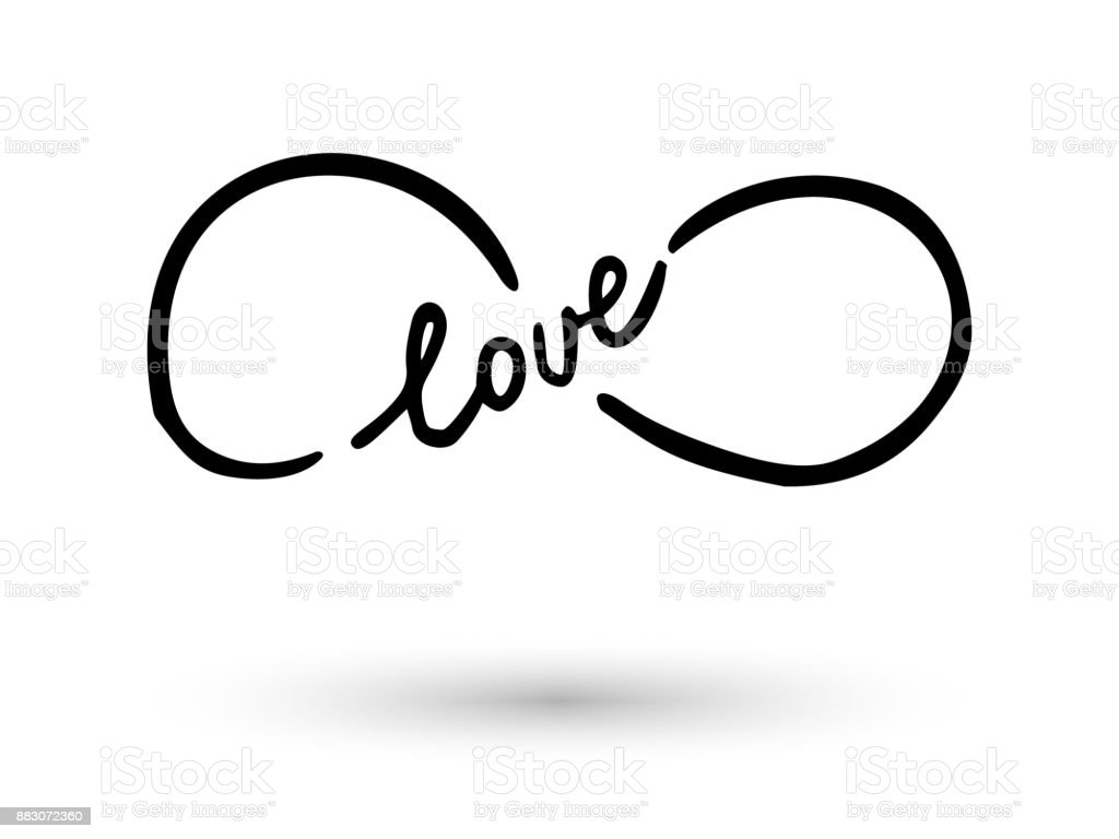 Infinity symbol hand drawn with ink brush stock vector art more infinity symbol hand drawn with ink brush royalty free infinity symbol hand drawn with ink buycottarizona Gallery