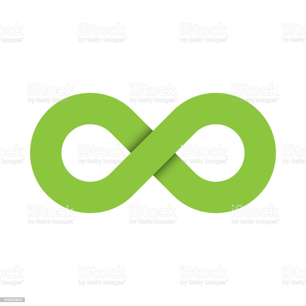 Infinity Symbol Icon Representing The Concept Of Infinite Limitless