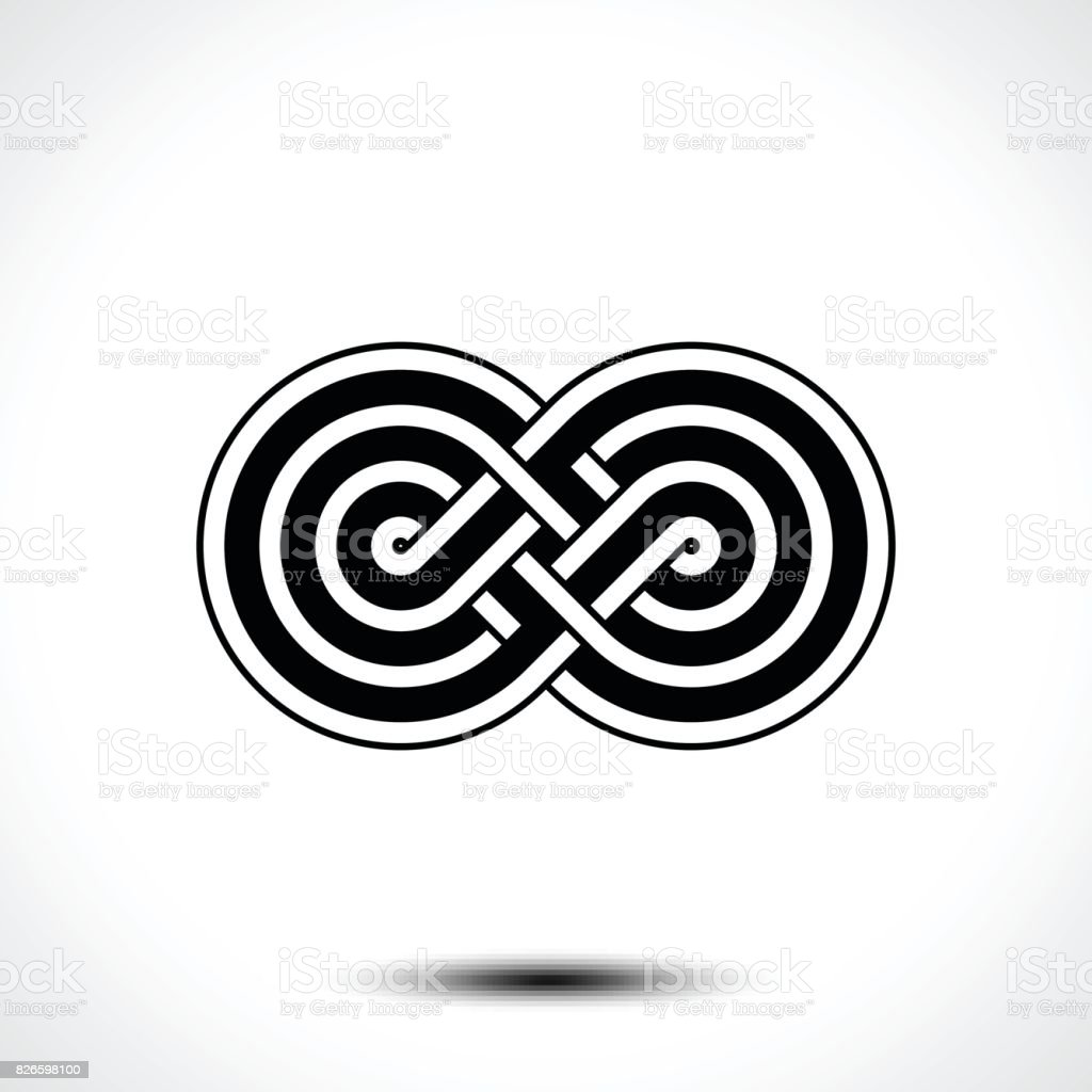 Infinity Symbol Icon Stock Vector Art More Images Of Abstract