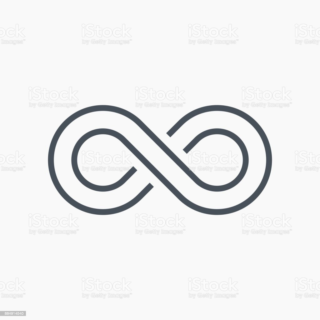 Infinity symbol icon vector stock vector art more images of infinity symbol icon vector royalty free infinity symbol icon vector stock vector art amp biocorpaavc Gallery