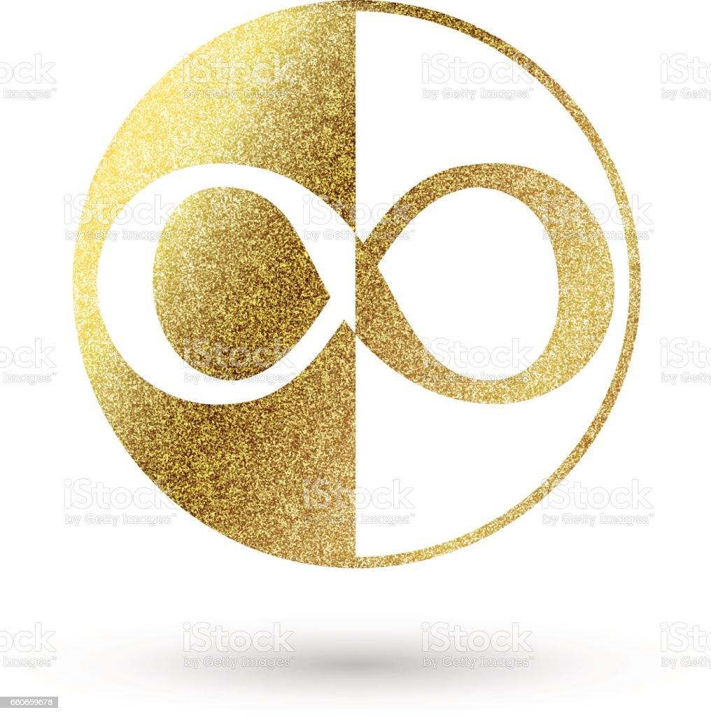Logo infinity symbol images symbol and sign ideas infinity symbol in golden stock vector art more images of infinity symbol in golden royalty free buycottarizona