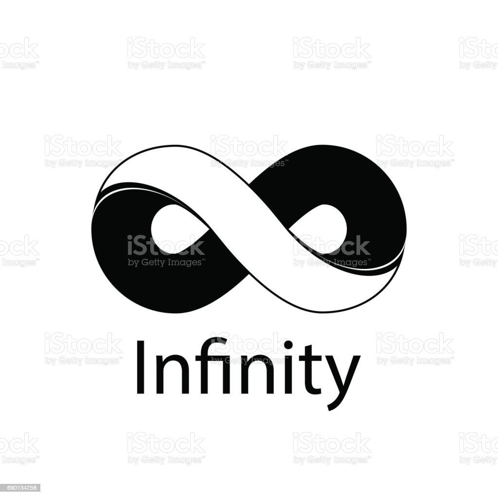 Infinity Symbol Logo Vector Illustration Stock Vector Art More