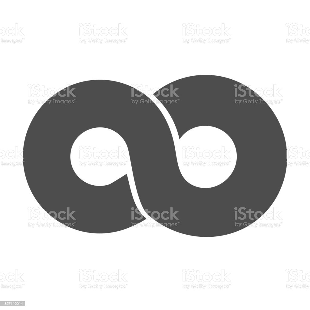 Infinity symbol loop figure 8 icon eternity icon sign in original infinity symbol loop figure 8 icon eternity icon sign in original design forever biocorpaavc Gallery