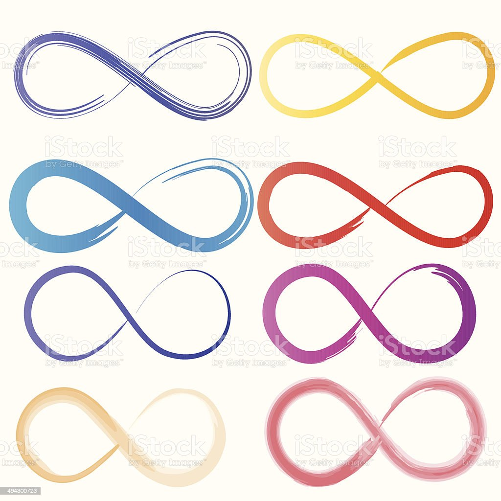Infinity Symbol Stock Vector Art & More Images of Abstract ...