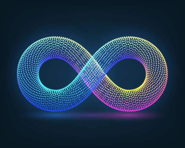 infinity - бесконечность stock illustrations