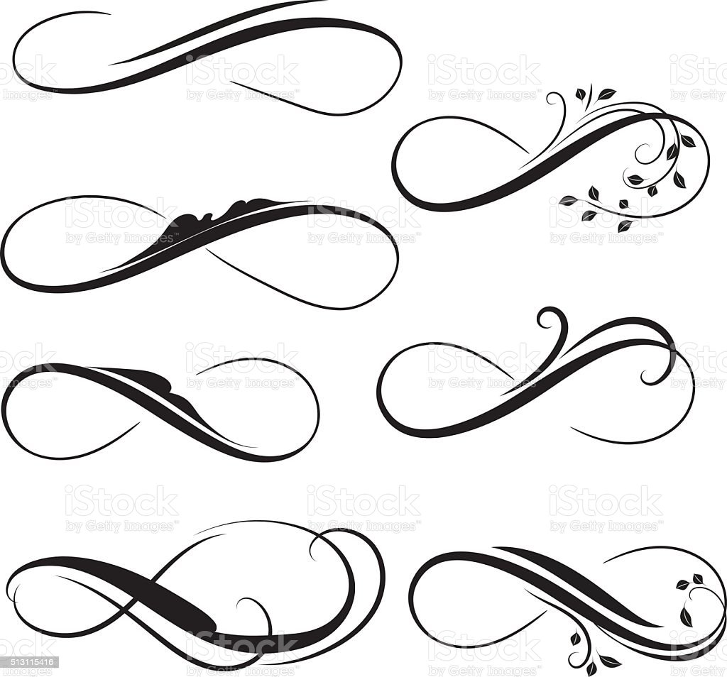 Infinity stock vector art more images of eternity 513115416 istock - Signe infini tatouage ...