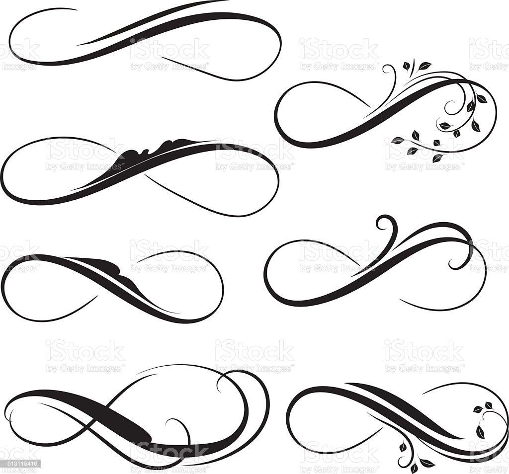 infinity vector art illustration