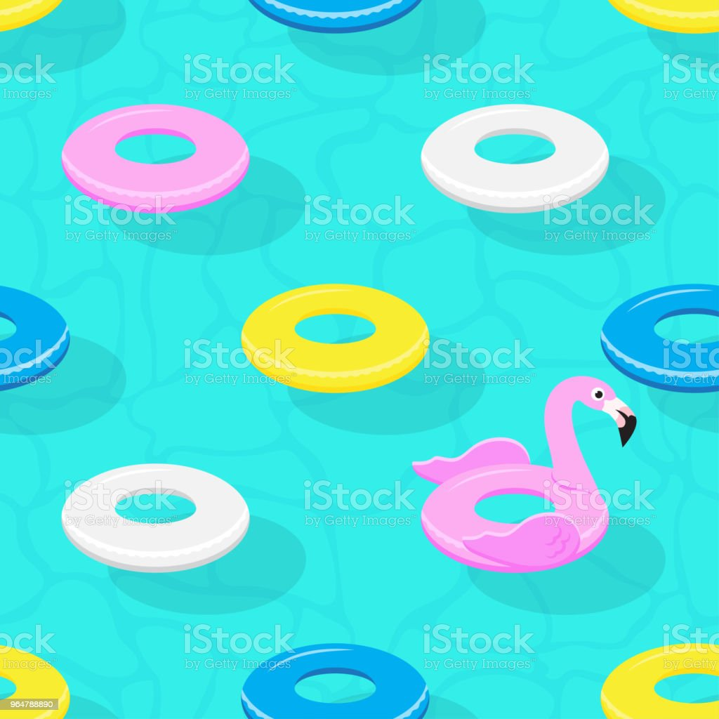 Inflatable animal rubber toys in swimming pool. royalty-free inflatable animal rubber toys in swimming pool stock vector art & more images of backgrounds