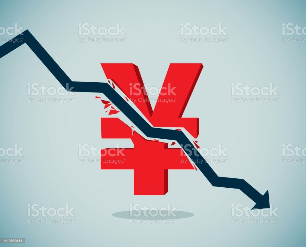 Inflation vector art illustration