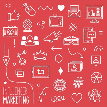 Influencer Marketing Content Marketing Design