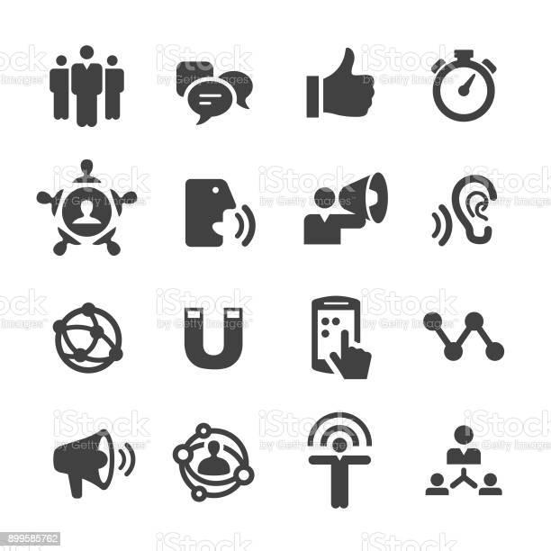 Influencer Marketing Icons Acme Series - Stockowe grafiki wektorowe i więcej obrazów Analizować