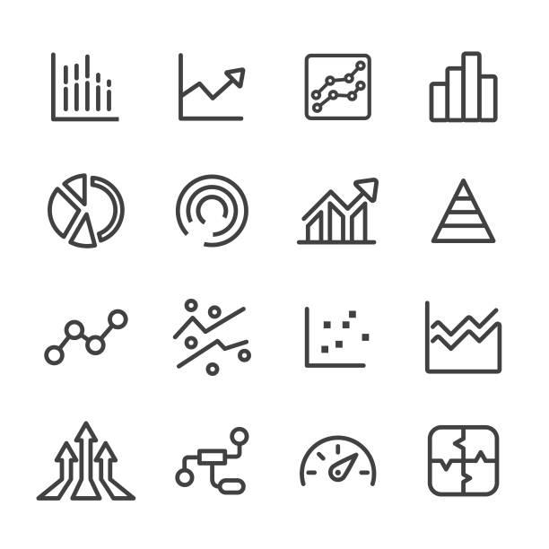 Info Graphic Icons - Line Series vector art illustration