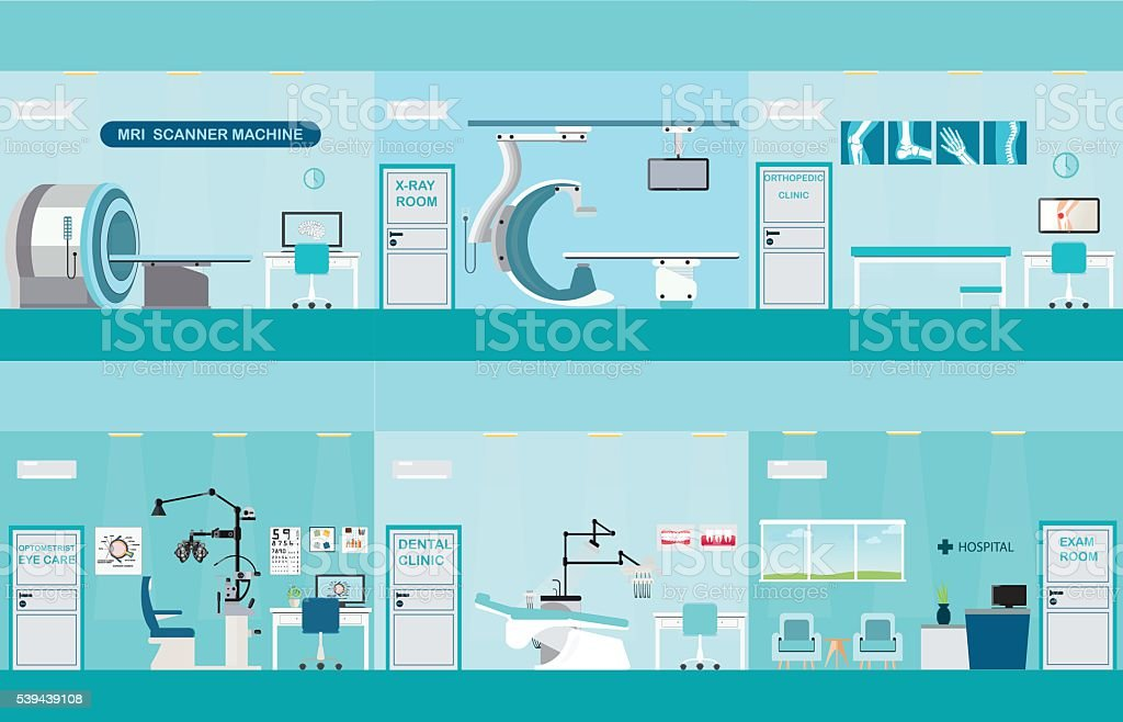 Info graphic of Medical services. vector art illustration