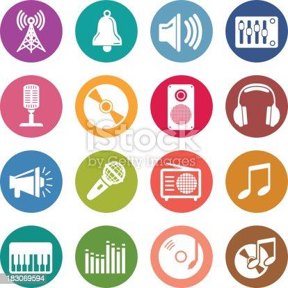 Info icon: Audio