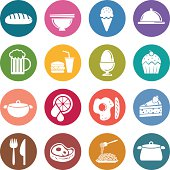 Info icon: Food and beverage