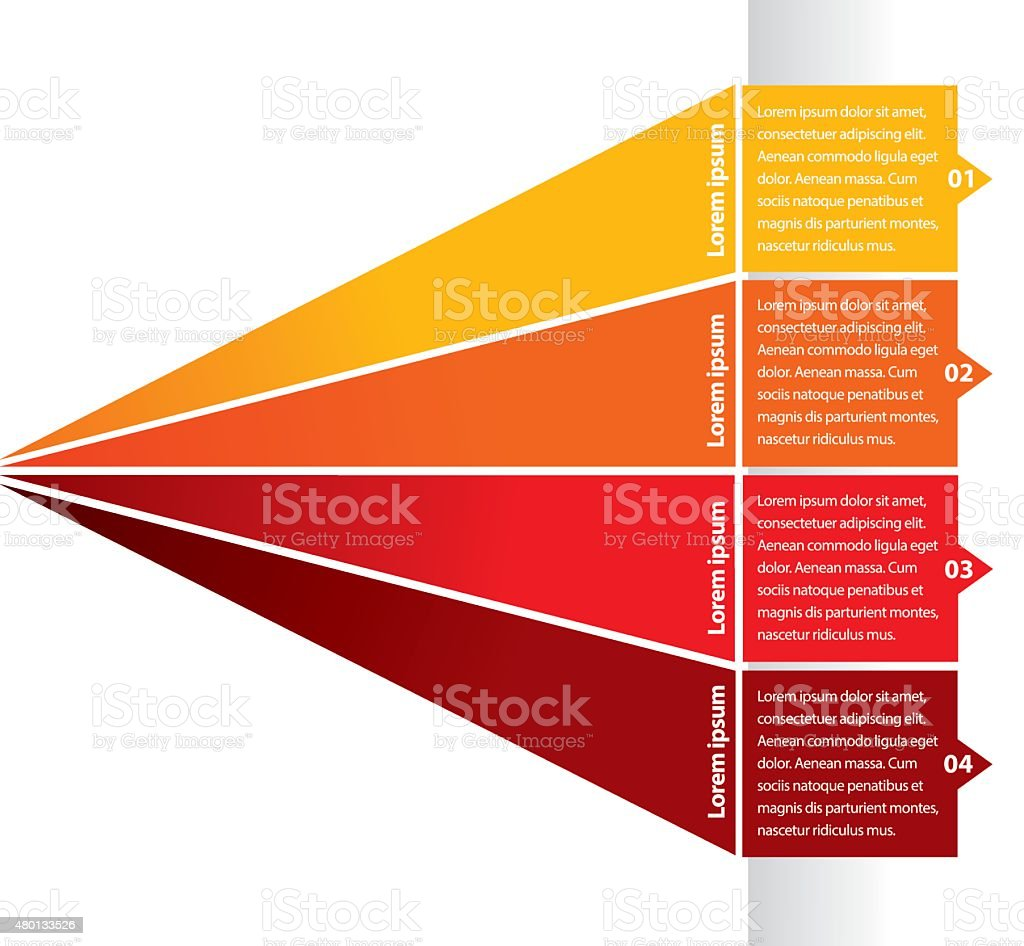 Infographic background 6 vector art illustration