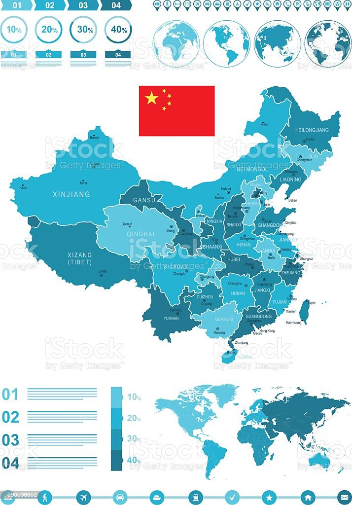 Infographic china map arte vectorial de stock y ms imgenes de infographic china map infographic china map arte vectorial de stock y ms imgenes de azul gumiabroncs Gallery