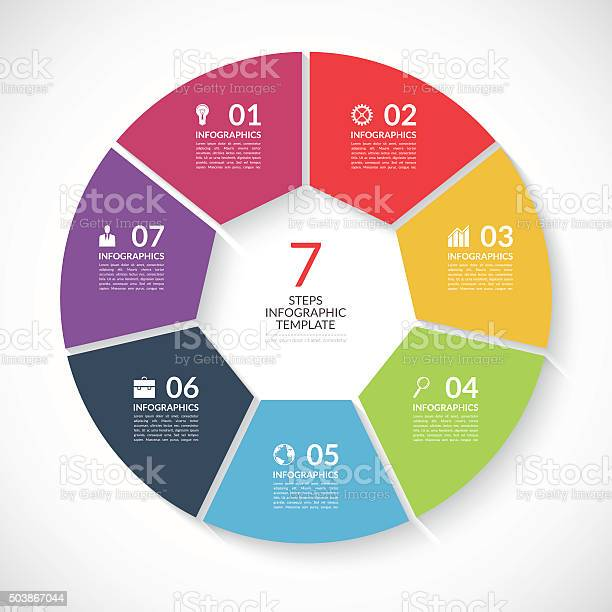 Infographic circle banner vector template with 7 steps parts options vector id503867044?b=1&k=6&m=503867044&s=612x612&h= 4vca0ycnckicufcfsemufjbeiwjiezpxahnwklc4ym=