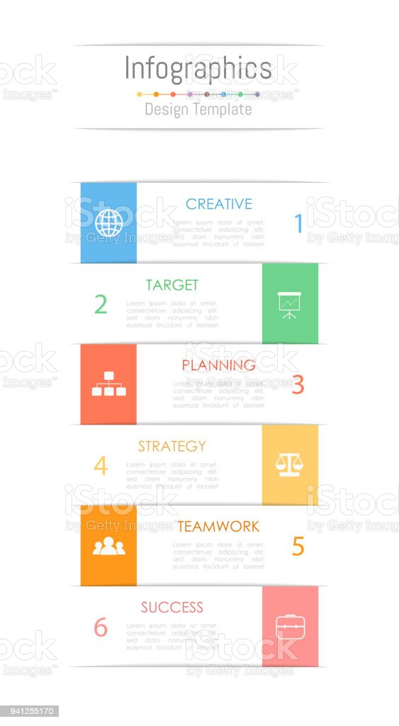 Infographic design elements for your business data with 6 options, parts, steps, timelines or processes. Vector Illustration. royalty-free infographic design elements for your business data with 6 options parts steps timelines or processes vector illustration stock illustration - download image now