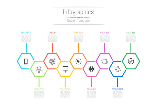 Infographic design elements for your business data with 9 options, parts, steps, timelines or processes. Vector Illustration. Infographic design elements for your business data with 9 options, parts, steps, timelines or processes. Vector Illustration. 8 9 years stock illustrations