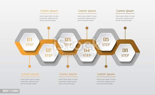 istock Infographic design elements for your business. 899124860