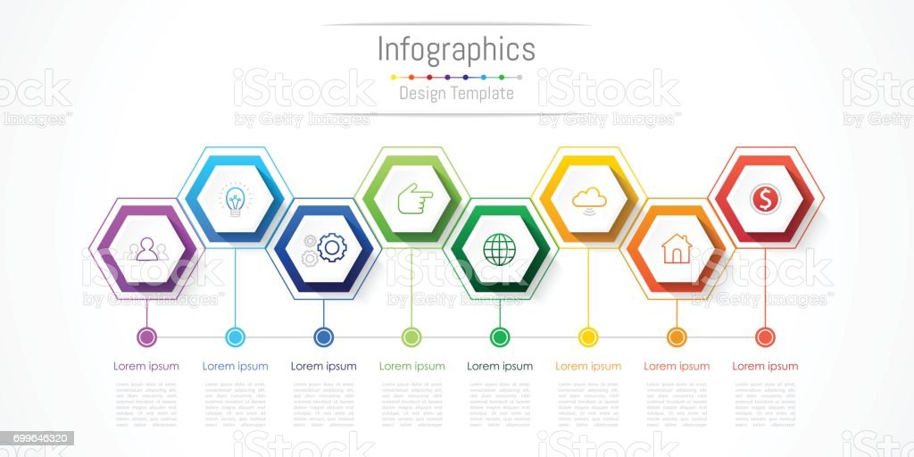 Infographic design elements for your business with 8 options, parts, steps or processes, Vector Illustration. royalty-free infographic design elements for your business with 8 options parts steps or processes vector illustration stock illustration - download image now