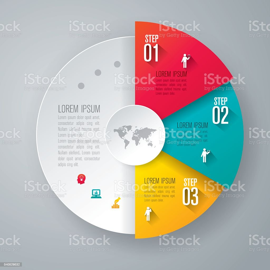 인포그래픽 디자인 템플릿 및 마케팅 아이콘. 벡터 아트 일러스트