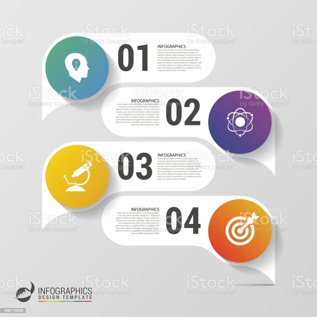 Infographic design template. Modern business concept. Vector infographic design template modern business concept vector - immagini vettoriali stock e altre immagini di adulto royalty-free