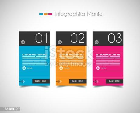 istock Infographic design template 173489102