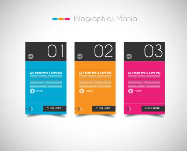 인포그래픽 디자인식 형판 - 사진 예술 및 공예제품 stock illustrations