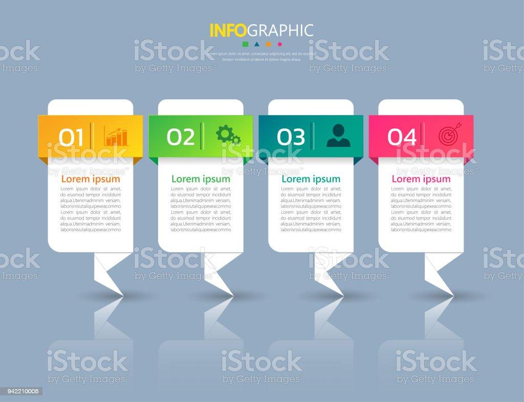 Ilustración de Infografía Diseño Plantilla y más banco de imágenes ...