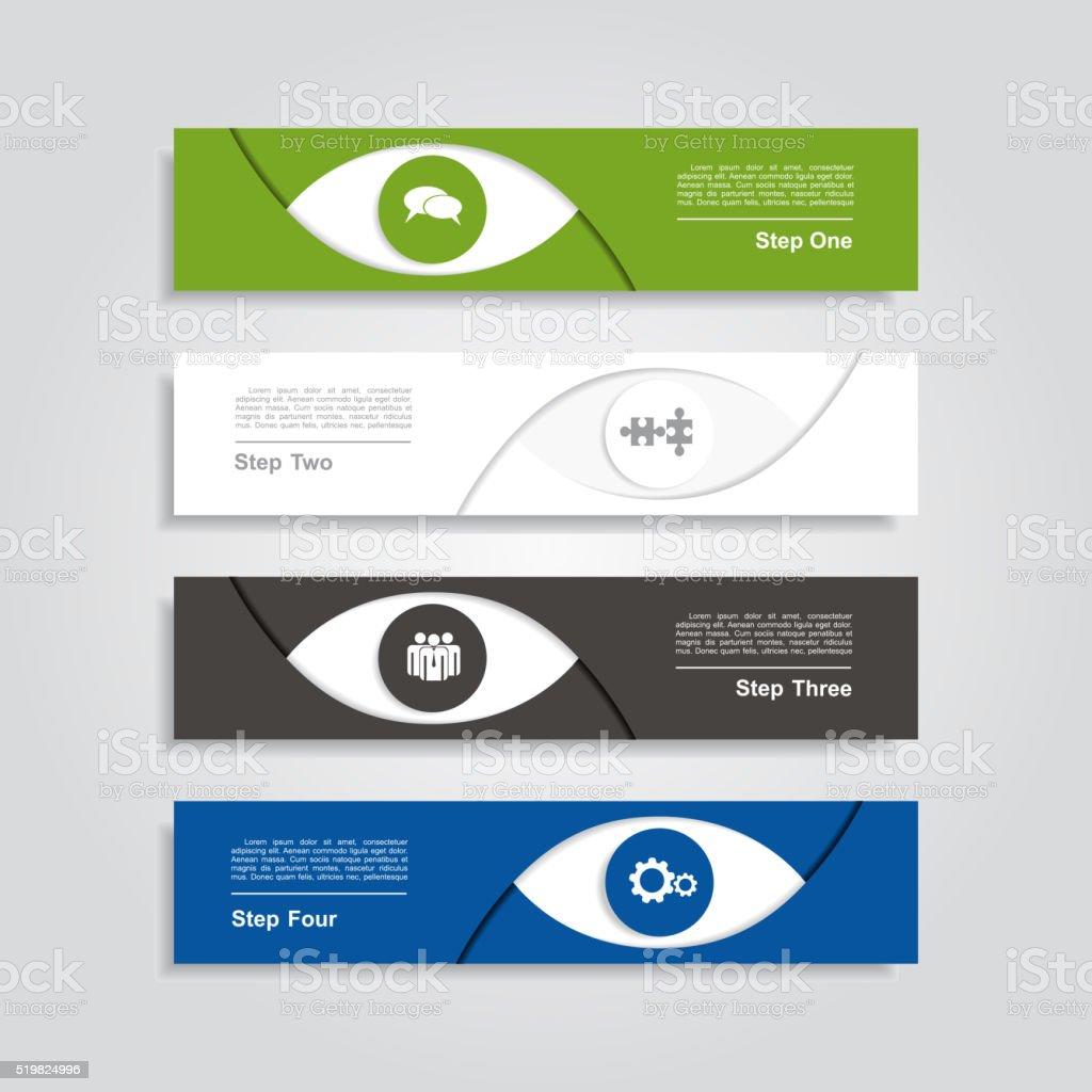 Infographic design template. Vector illustration vector art illustration