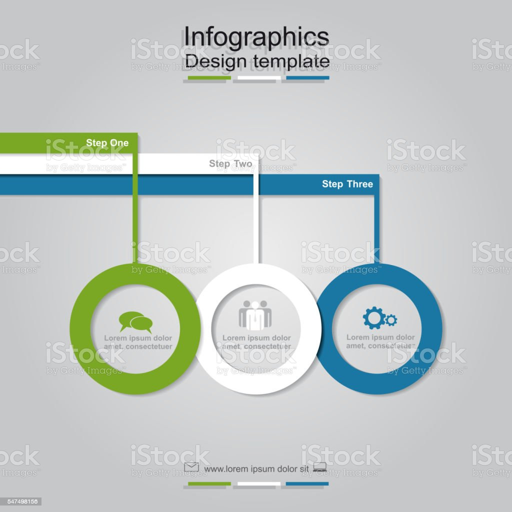 Infographic design template. Vector illustration. vector art illustration