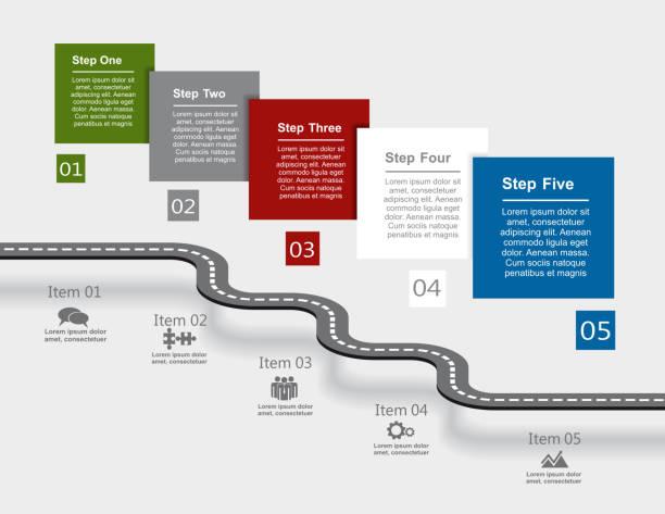 Infographie Modèle de conception. illustration vectorielle. - Illustration vectorielle