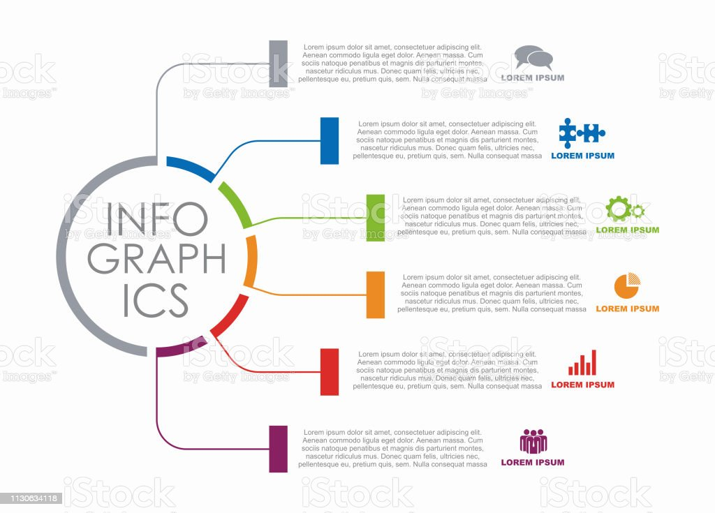 Infographic design template with place for your data. Vector illustration. royalty-free infographic design template with place for your data vector illustration stock illustration - download image now