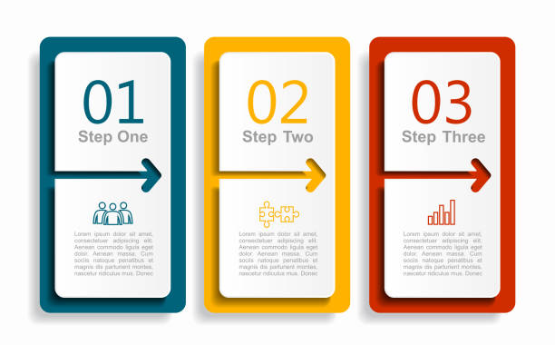 infographic design template with place for your data. vector illustration. - infografiki stock illustrations