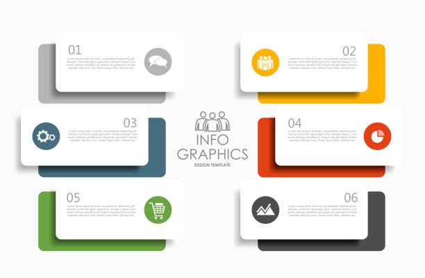資訊圖形設計範本,用於資料的位置。向量插圖。 - infographics 幅插畫檔、美工圖案、卡通及圖標