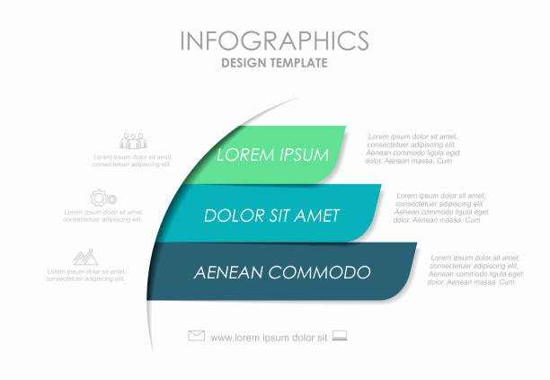 infographic design template with place for your data. vector illustration. - klawisz option stock illustrations
