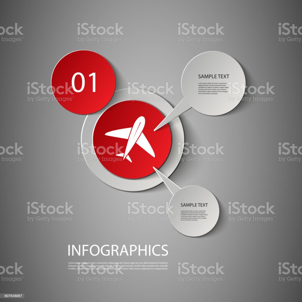 Infographic Design vector art illustration