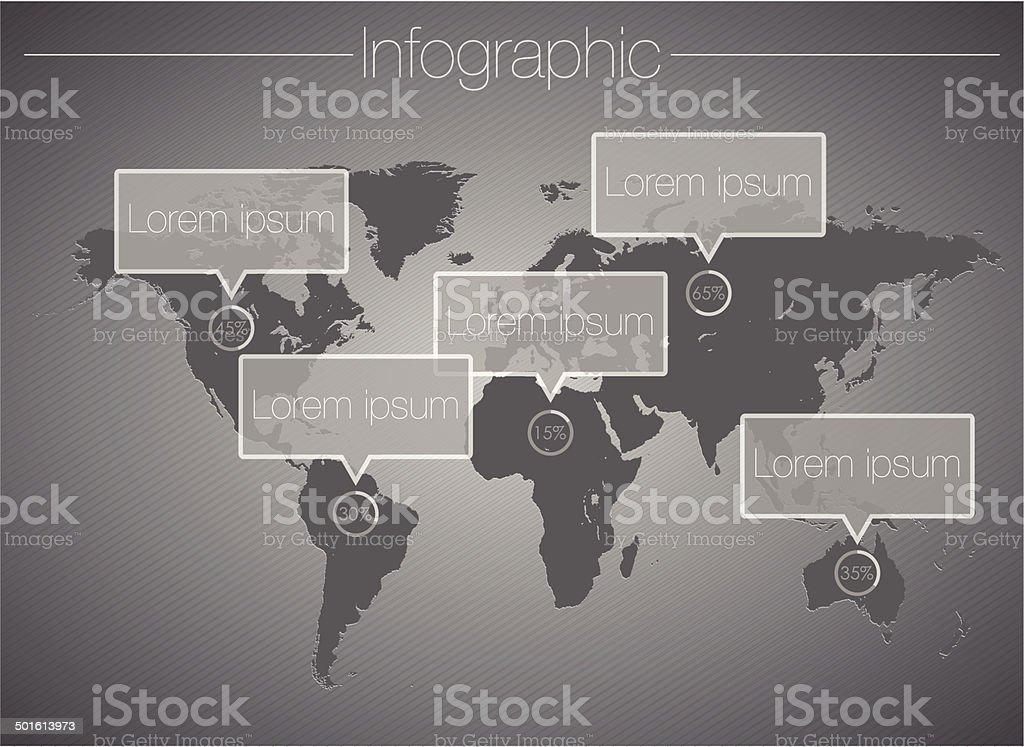 Infographic design-vector illustration royalty-free stock vector art
