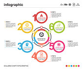 infographic, icon, business, circle, timeline