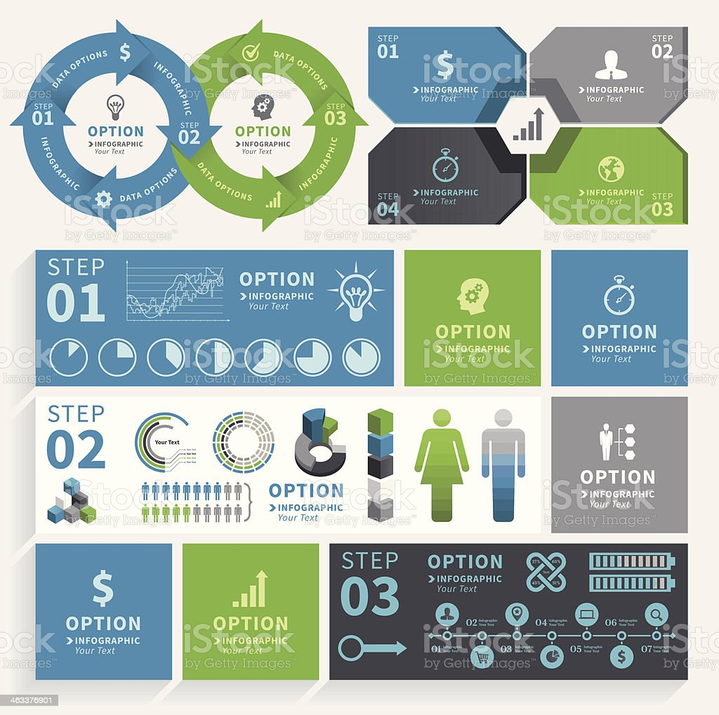 Infographic Element vector art illustration