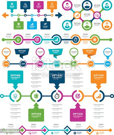 istock Infographic Elements and Timeline Set 623928334