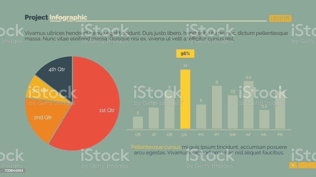 Infographic elements slide vector art illustration