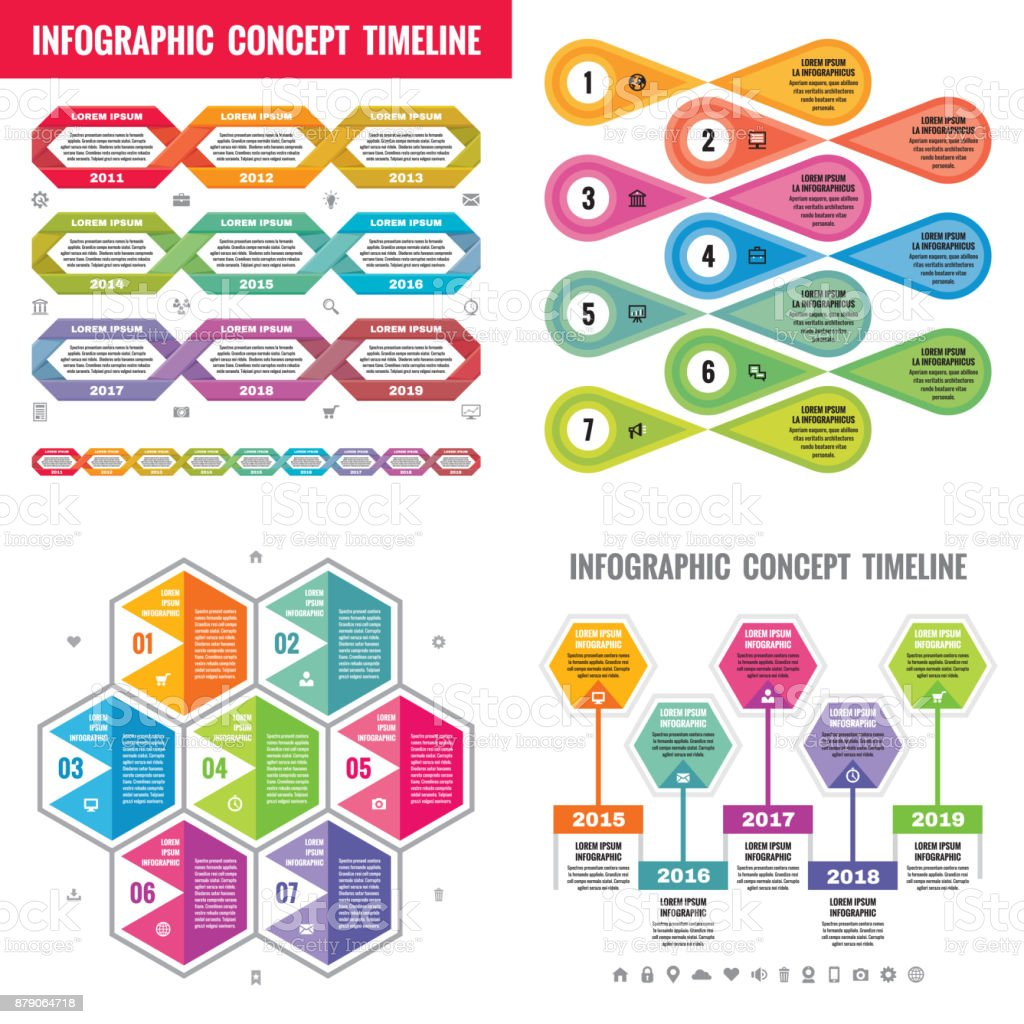 Infographic elements template business concept banners for infographic elements template business concept banners for presentation brochure website and other design project cheaphphosting Images